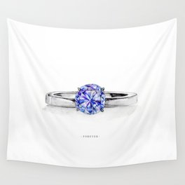 RING。FOREVER Wall Tapestry