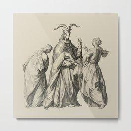 Witches' Sabbath Metal Print