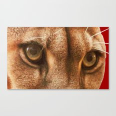 The Eyes Of The Cougar Canvas Print