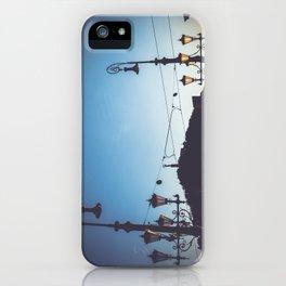 Freedom bridge - summer sunset I. iPhone Case