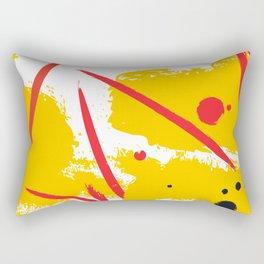 Yellow fantasy Rectangular Pillow