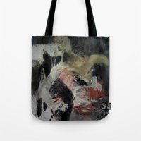 imagerybydianna Tote Bags featuring ritual; carousel thoughts by Imagery by dianna