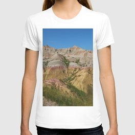The Painted Desert Of The Badlands South Dakota  T-shirt