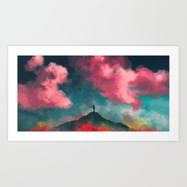 Anxieties Away Art Print