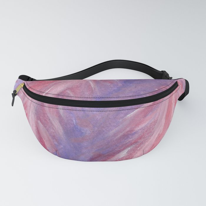 Fluttery Feathers Fanny Pack