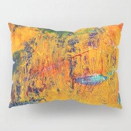 Imaginaere Landschaft II abstrakte Malerei Pillow Sham