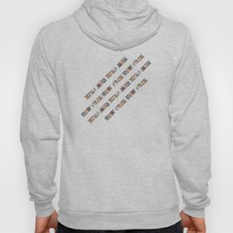New York City (typography diagonal) Hoody