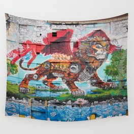 Detroit Chimera ( kī-ˈmir-ə ) Wall Tapestry