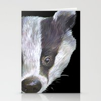 badger Stationery Cards featuring Badger! by Alison Jacobs