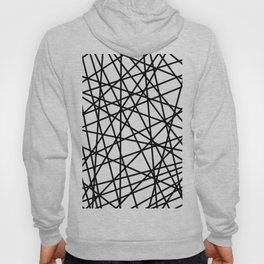 Lazer Dance Black on White Hoody