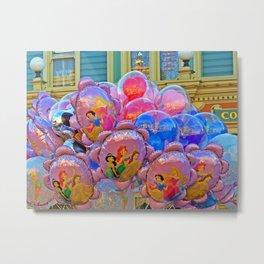 Balloons on Main Street USA Metal Print