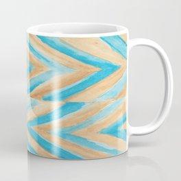 Beach Chevron Coffee Mug