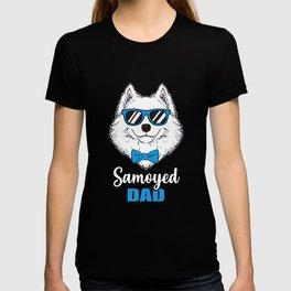 Cool Samoyed Dad Dog Gift T-shirt