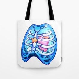 Aquarium Heart - Jelly Ribcage (No. 2) Tote Bag