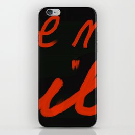 Strong iPhone Skin