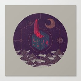 It Appeared in the Night Sky, and It Made the Wind Sharp Canvas Print