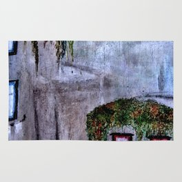 Houses in Milan in the evening Italy Rug