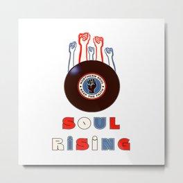 Northern Soul Rising Metal Print