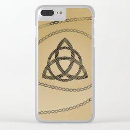 Viking symbols Clear iPhone Case