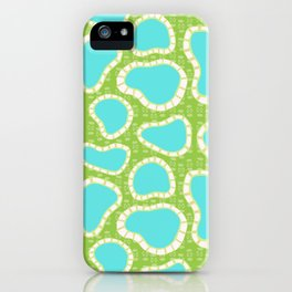 Hot Springs Pools - Pattern by Mellie Test iPhone Case