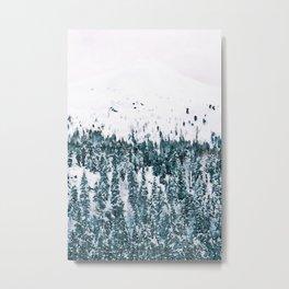 Minimalist winter painting #4 Metal Print