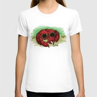cigarette T-shirts featuring Cigarette Crab by Victoria Morris
