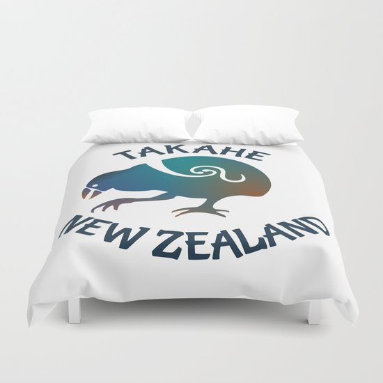 TAKAHE New Zealand Native bird Duvet Cover