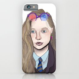 I think they think I'm a bit odd, you know iPhone Case