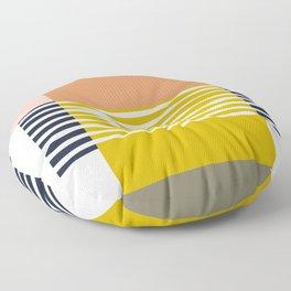 Marfa Abstract Geometric Print Floor Pillow