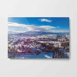 Shrouded Metal Print