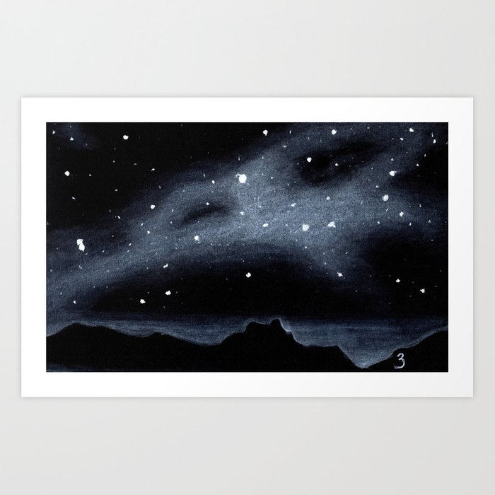 Skylights Art Print