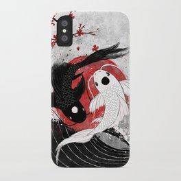 Koi fish - Yin Yang iPhone Case