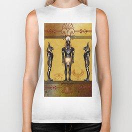 Horus Egyptian deities. Biker Tank