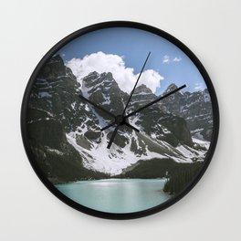 Man and Mountain Wall Clock