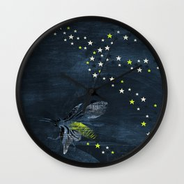 Trail of Stars Wall Clock