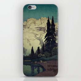The Pending Storm at Hike iPhone Skin