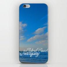 Fistral Beach, Newquay, England iPhone & iPod Skin