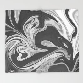 REBOOT - BLACK Throw Blanket