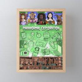 Paranormal Exploration Framed Mini Art Print