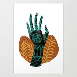 Goddess of the First Harvest Art Print