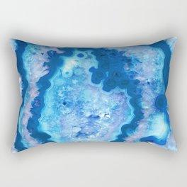 Agate Ocean Dream #1 #gem #decor #art #society6 Rectangular Pillow