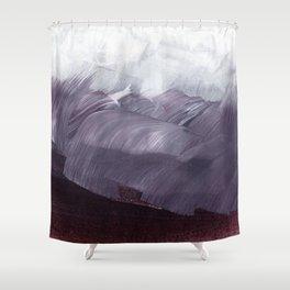 brushstrokes 15 Shower Curtain