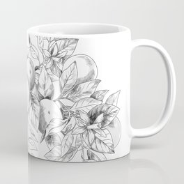 Orange tree branch - botanical illustration Coffee Mug