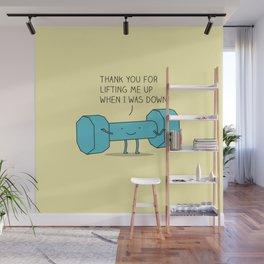 uplifting friend Wall Mural