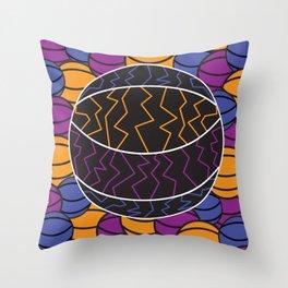 Electric Baller Throw Pillow