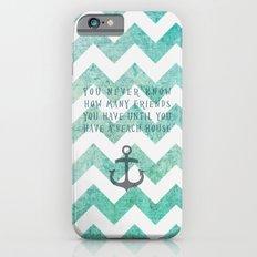 beach house Slim Case iPhone 6