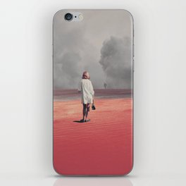 Watching you Leave me. Didn't want to iPhone Skin