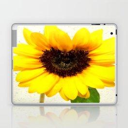 Heart shape Love Yellow sunflower Laptop & iPad Skin