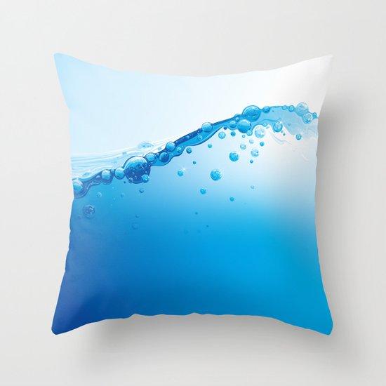 Full of Water Throw Pillow