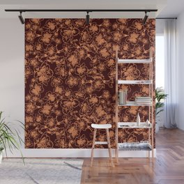 Fall Floral Wall Mural